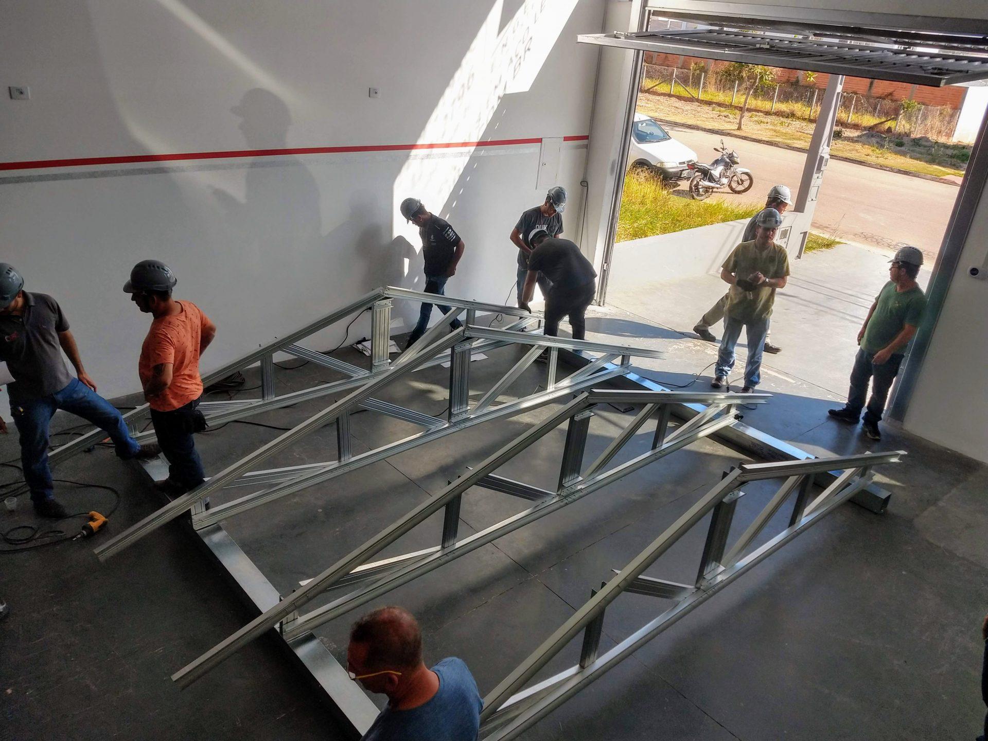 Curso de coberturas em Steel Frame